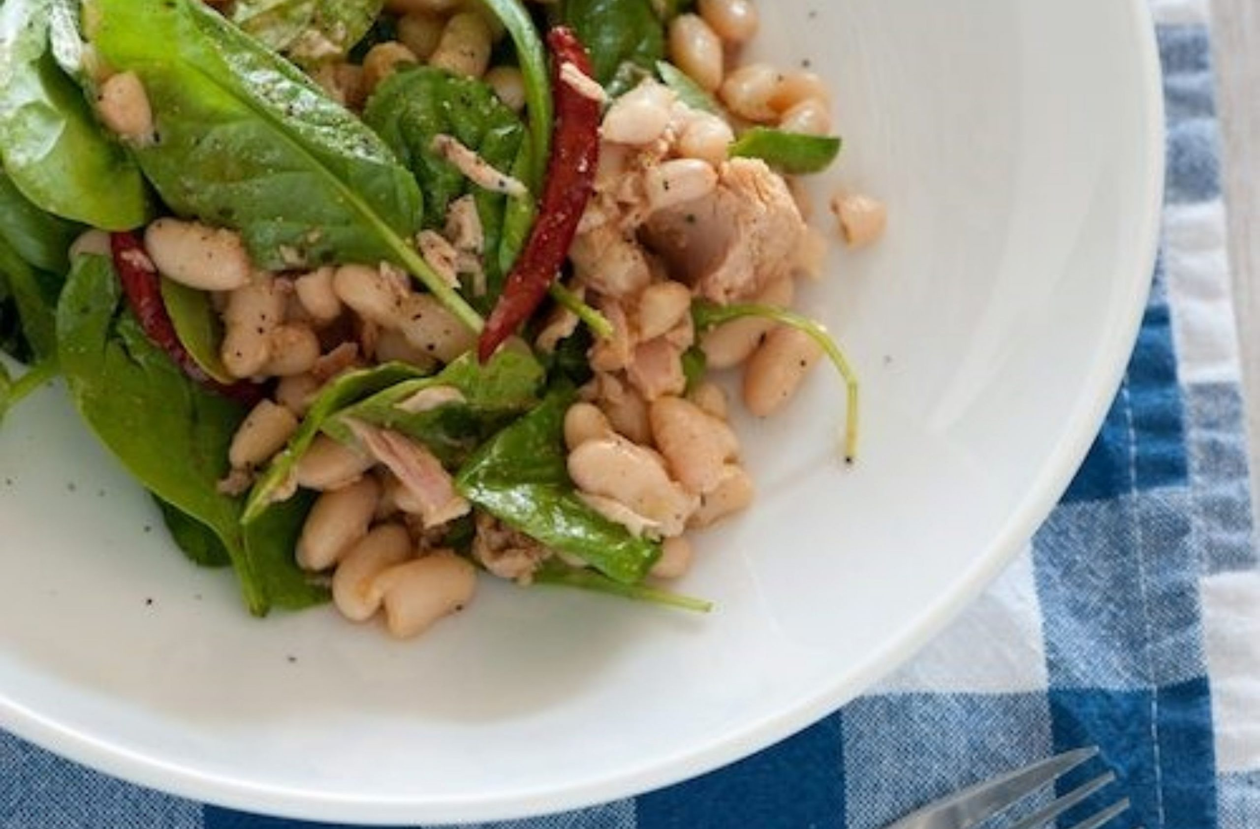 Best ever bean and tuna salad