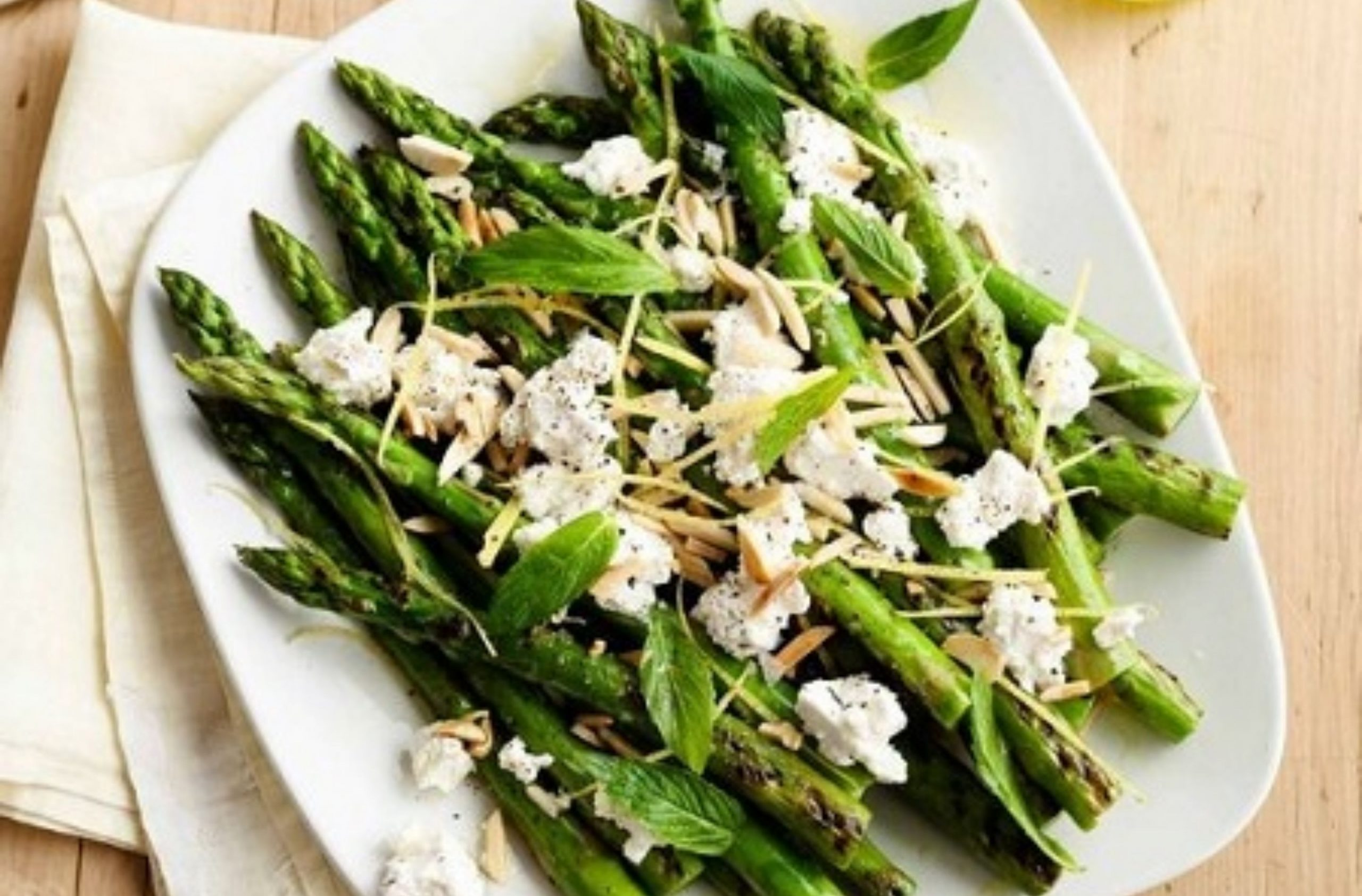 Asparagus with Lemon